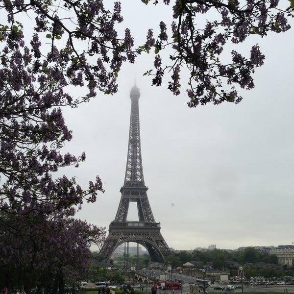 Photo prise au Place du Trocadéro par Klaus M. le5/21/2013
