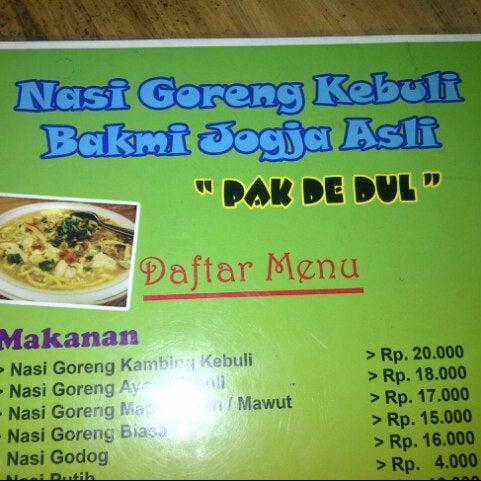 Nasi Goreng Kambing Kebuli Restaurante Indonesio