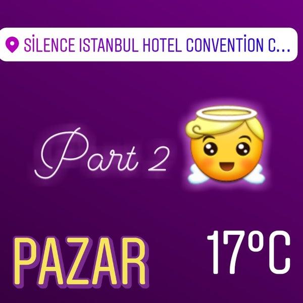 4/1/2018 tarihinde Meralziyaretçi tarafından Silence Hotels Istanbul'de çekilen fotoğraf