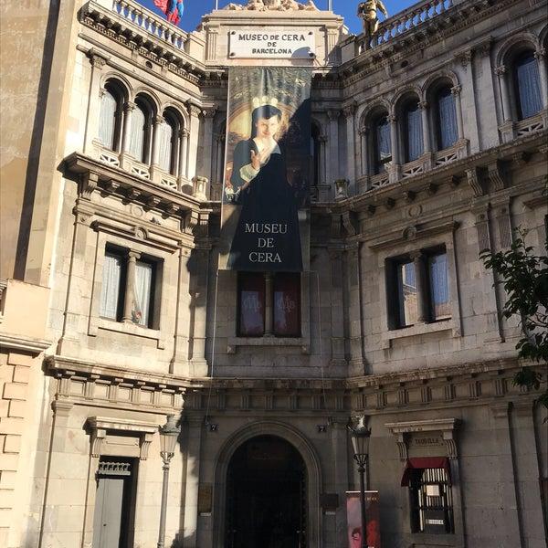 Foto diambil di Museu de Cera de Barcelona oleh Erman Ç. pada 11/28/2017