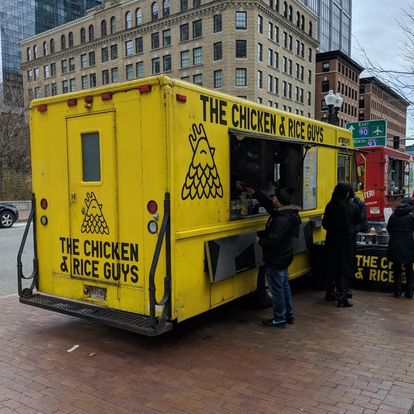 Photos At Chicken And Rice Guys Food Truck Downtown Boston 3 Tips