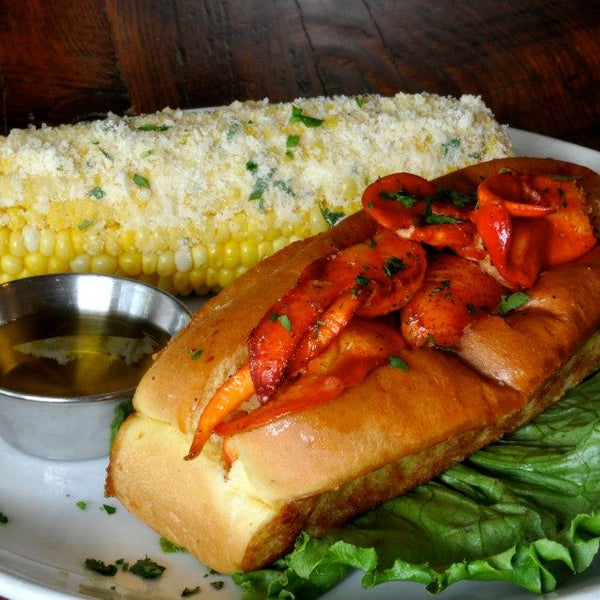 The lobster roll is a must try!
