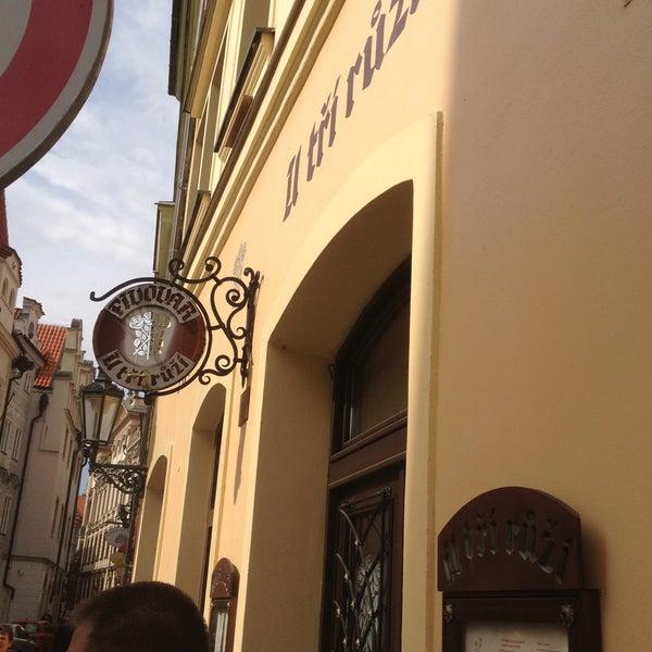 5/9/2013にАндрей М.がPivovar U Tří růžíで撮った写真