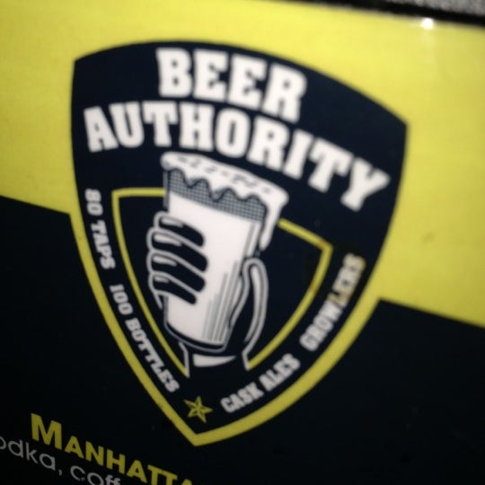 Снимок сделан в Beer Authority NYC пользователем Rose 11/11/2012