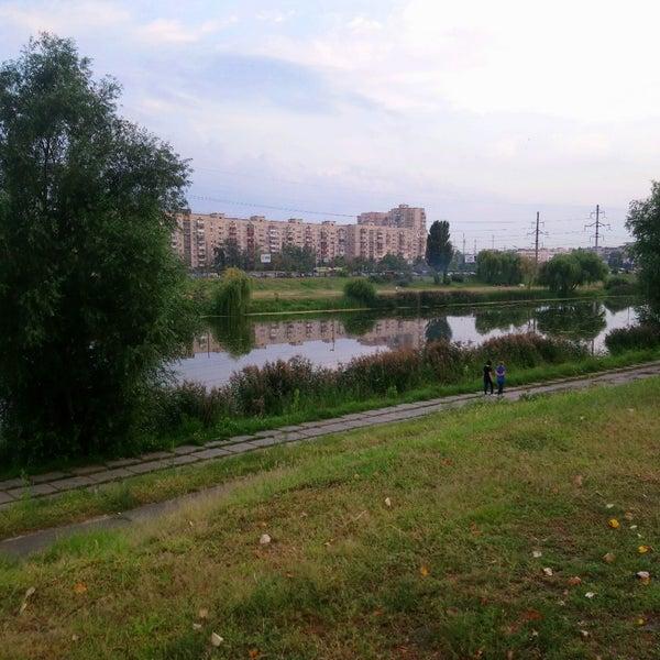 รูปภาพถ่ายที่ Троєщинський канал โดย Pavlo B. เมื่อ 8/18/2018