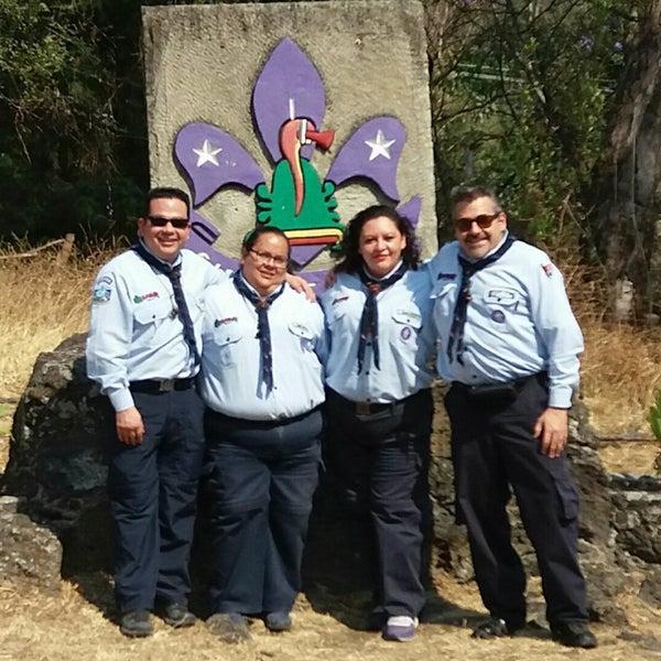 รูปภาพถ่ายที่ Campo Escuela Scout Meztitla โดย Miner H. เมื่อ 3/18/2017