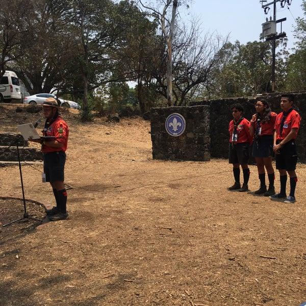รูปภาพถ่ายที่ Campo Escuela Scout Meztitla โดย Miner H. เมื่อ 5/7/2017