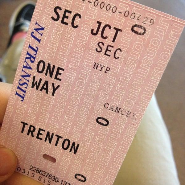 Secaucus Junction Track B - Train Station