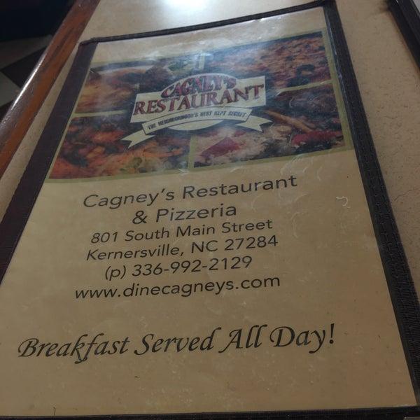 Cagney's Restaurant & Pizzeria - Kernersville, NC
