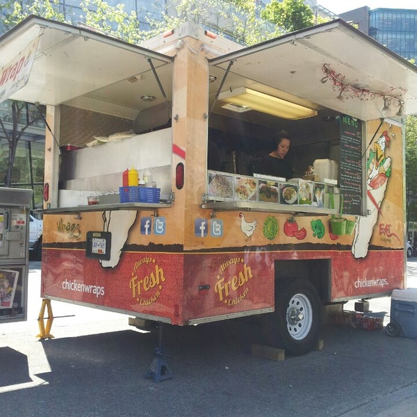 Photos At Eat Chicken Wraps Food Truck In Financial District
