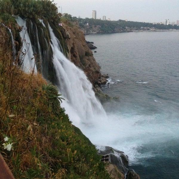 6/24/2013 tarihinde Sibel T.ziyaretçi tarafından Düden Şelalesi'de çekilen fotoğraf