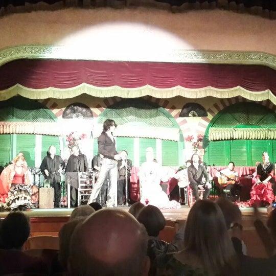 Foto tomada en Tablao Flamenco El Palacio Andaluz por Etil T. el 4/1/2015