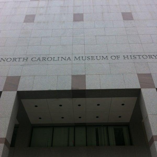 รูปภาพถ่ายที่ North Carolina Museum of History โดย Davin G. เมื่อ 3/23/2013