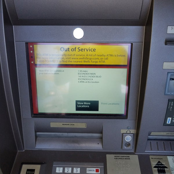 Photos at Wells Fargo Bank East Escondido - Escondido, CA