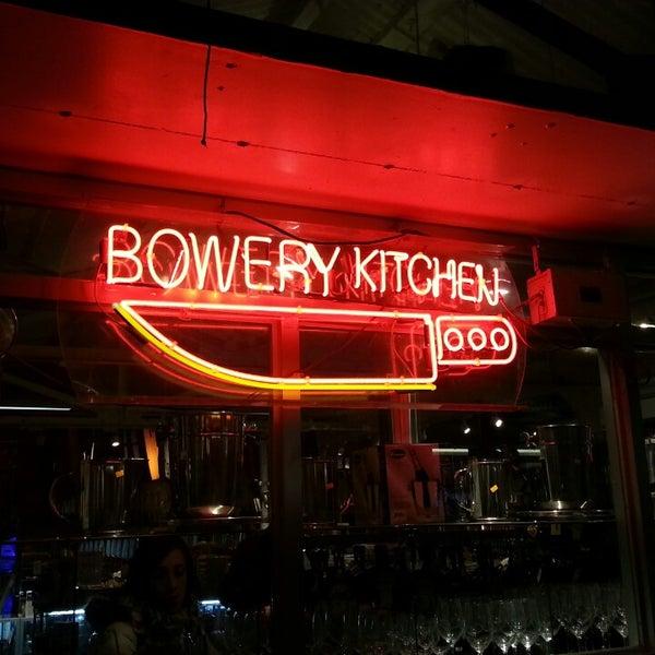 Das Foto wurde bei Bowery Kitchen Supplies von Diego D. am 3/26/2014 aufgenommen