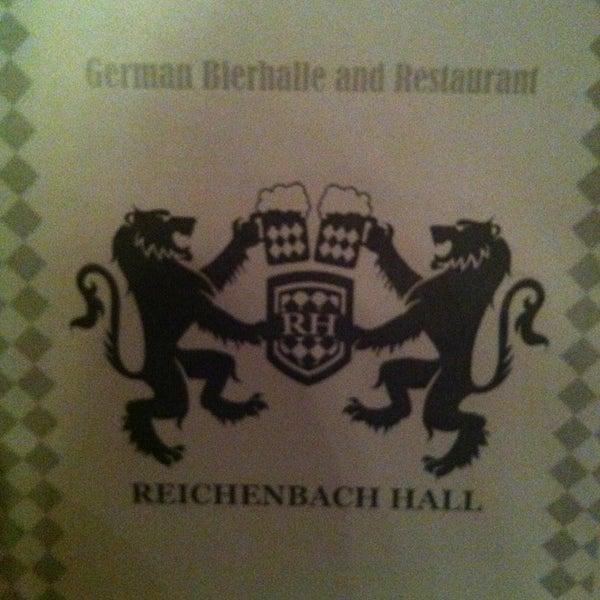 Снимок сделан в Reichenbach Hall пользователем Ninett 6/12/2013