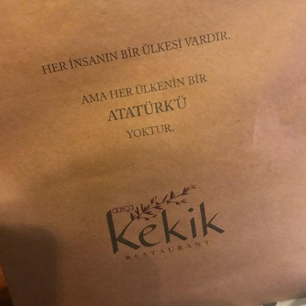 9/1/2018 tarihinde Mrve K.ziyaretçi tarafından Kekik Restaurant'de çekilen fotoğraf