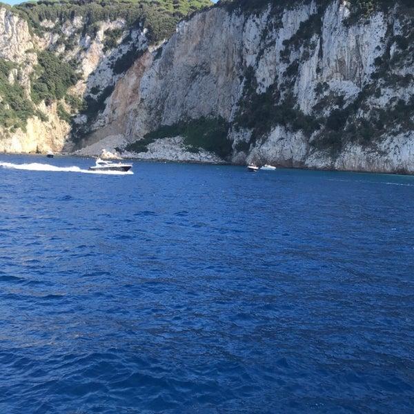 Снимок сделан в Capri Tiberio Palace пользователем Sara 9/2/2018