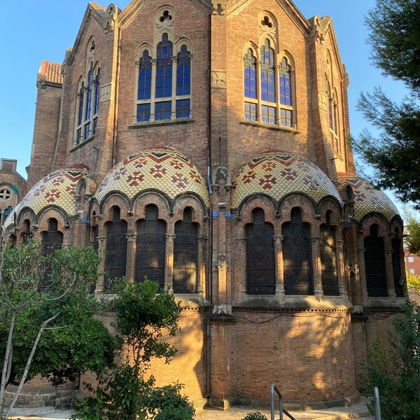 Photo taken at Sant Pau Recinte Modernista by Sabien Mirary S. on 9/6/2020