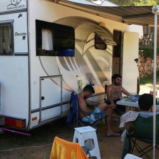7/5/2016 tarihinde Mustafa T.ziyaretçi tarafından Azmakbasi Camping'de çekilen fotoğraf