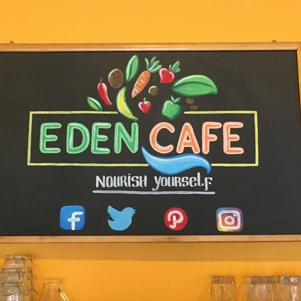 Photo taken at Eden Cafe by Alethia H. on 6/20/2017