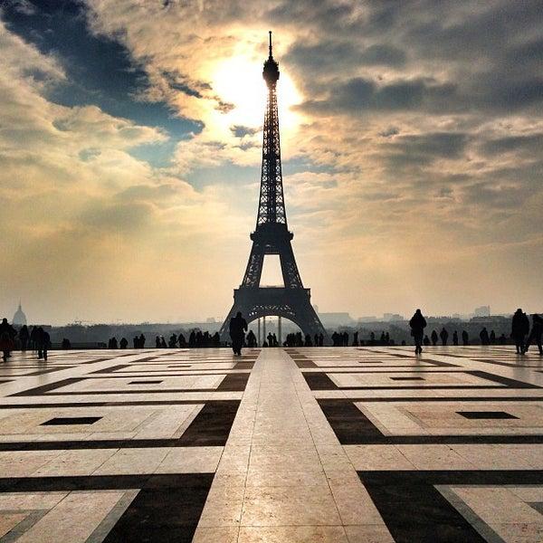 Photo prise au Place du Trocadéro par Bois H. le5/13/2013