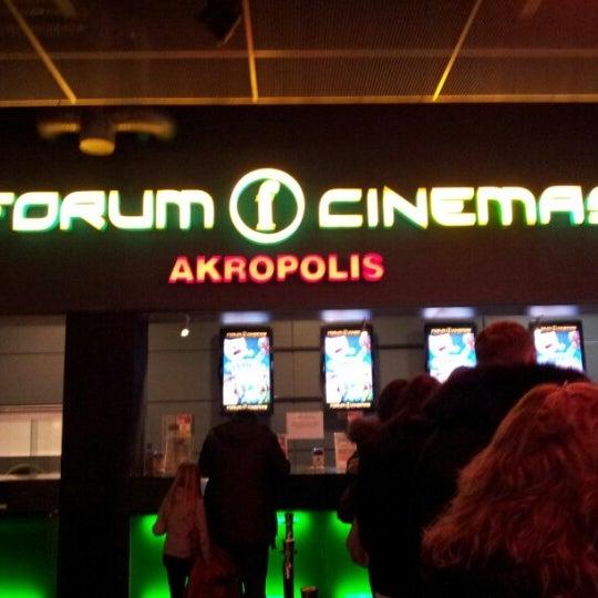 Foto scattata a Forum Cinemas Akropolis da Kristina P. il 2/16/2013