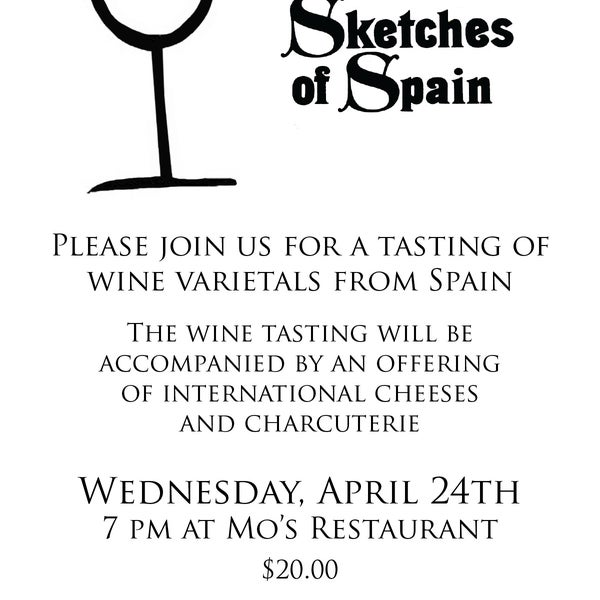 Join us TOMORROW for our wine tasting event! https://www.facebook.com/events/365689666872693/