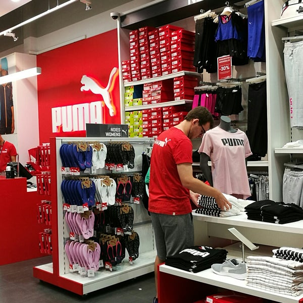 The Puma Outlet - Sporting Goods Shop in Barcelona