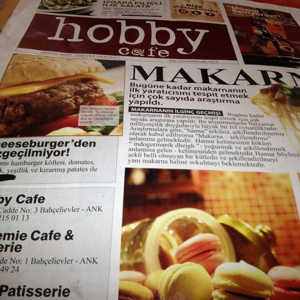 Снимок сделан в Hobby Cafe пользователем Funda T. 2/1/2013