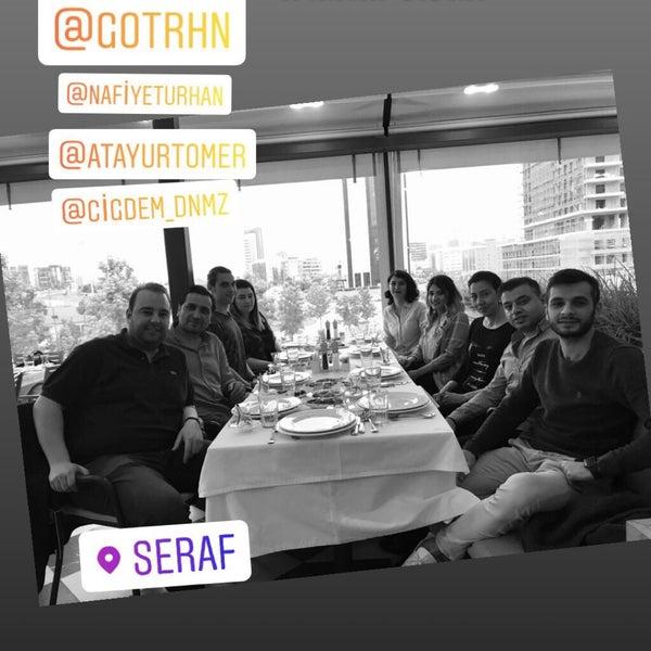 Das Foto wurde bei Seraf Restaurant von Hasan D. am 5/22/2019 aufgenommen