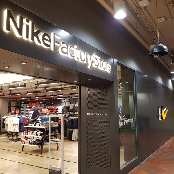 Image result for robinson airport mall nike store chiang mai