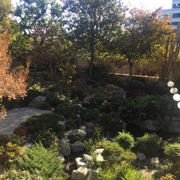 Los Angeles Japanese Garden: James Irvine Japanese Garden At The JACC