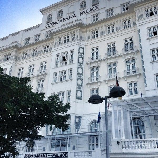 7/19/2013에 Jean Carlos Andrade님이 Belmond Copacabana Palace에서 찍은 사진
