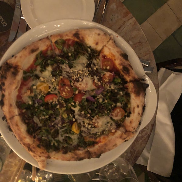 The food is to die for. For the vegetarian, vegan, plant-based, they have an entire section of the menu. The plant-based pizza is beyond!