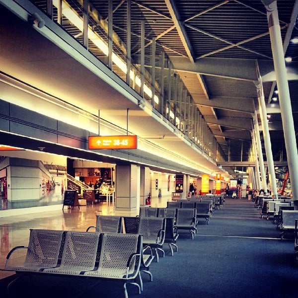 8/29/2013에 Mysia K.님이 바르샤바 쇼팽 공항 (WAW)에서 찍은 사진