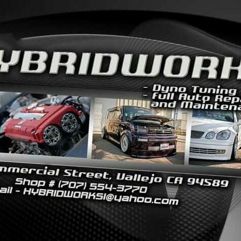 Photo Taken At Hybridworks Automotive Services By Eldon P On 12 8