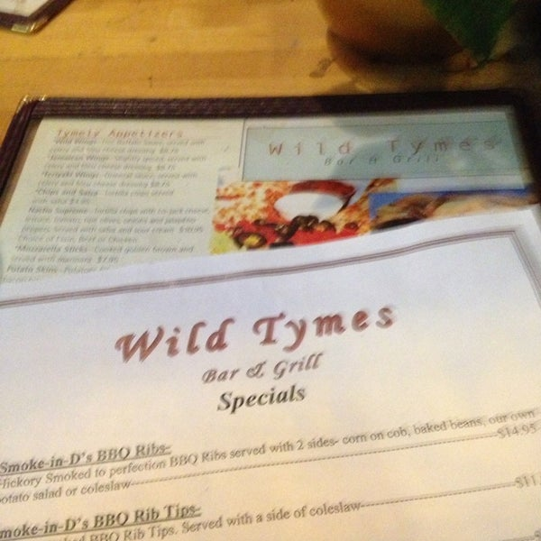 12/20/2012에 Emily C.님이 Wild Tymes Sports & Music Bar에서 찍은 사진