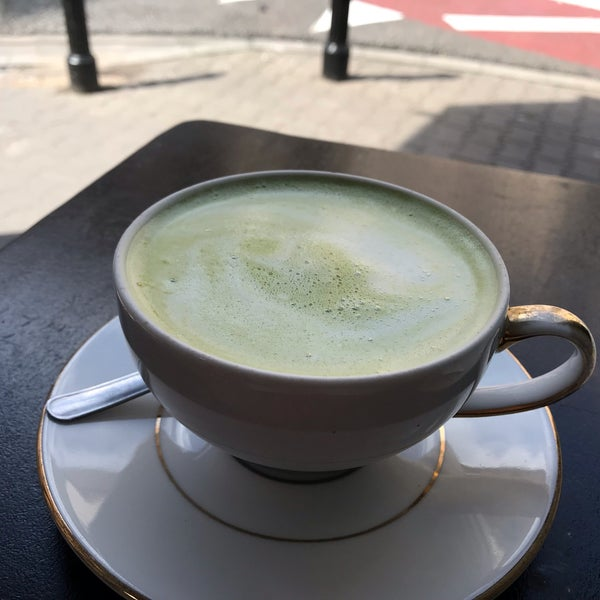 My matcha latte was not too good