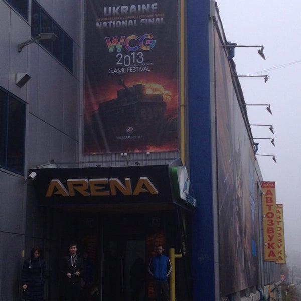 10/26/2013 tarihinde Jaŭhien H.ziyaretçi tarafından Киберcпорт Арена'de çekilen fotoğraf