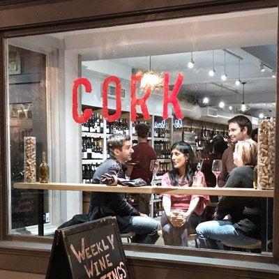 Foto scattata a Cork Wine Bar and Market da Cork Wine Bar and Market il 12/16/2017