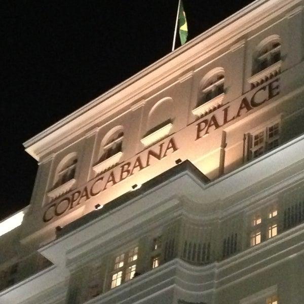 2/15/2013에 Ronan P.님이 Belmond Copacabana Palace에서 찍은 사진