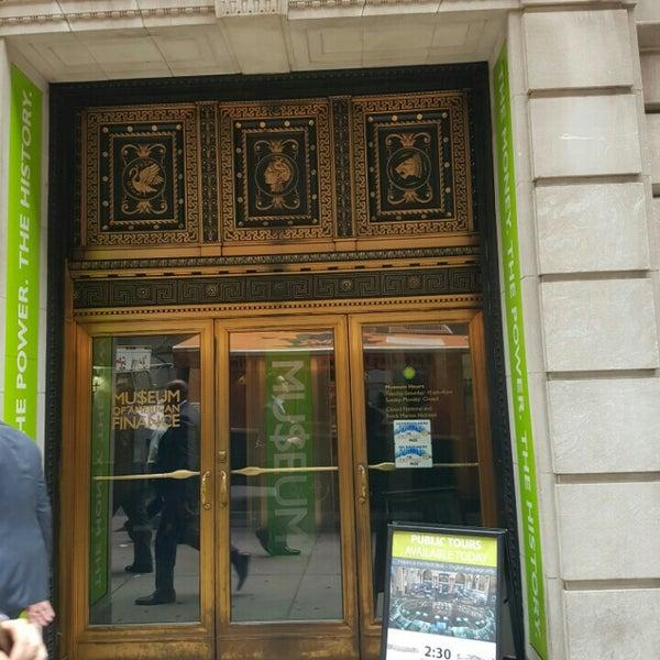 Foto tirada no(a) Museum of American Finance por Manu em 6/28/2016