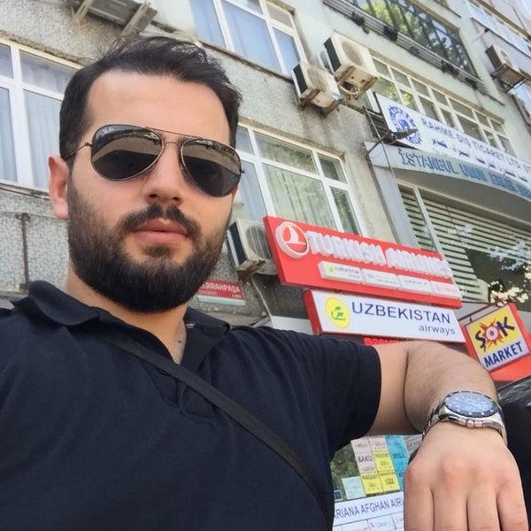 Снимок сделан в İstanbul Berberler Odası пользователем Ramazan E. 6/22/2016
