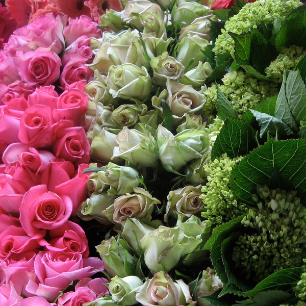 Photo taken at Rubia Flower Market by Rubia Flower Market on 3/25/2014