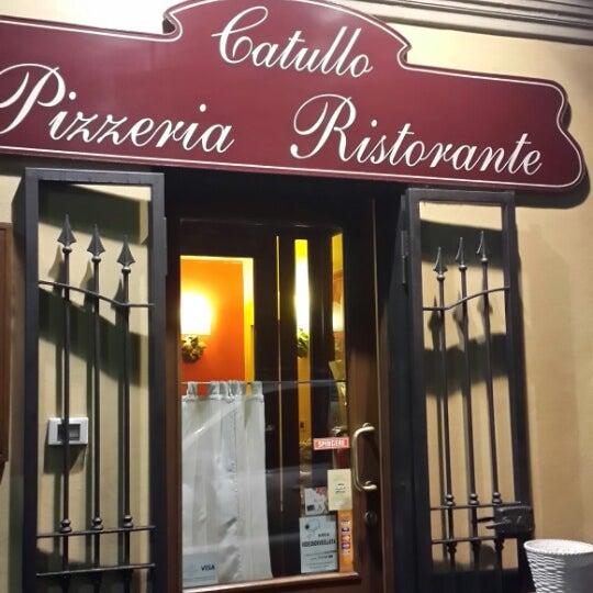 รูปภาพถ่ายที่ Catullo - Ristorante Pizzeria โดย Serkan O. เมื่อ 2/16/2014
