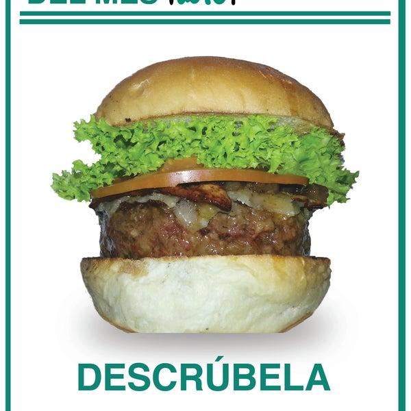 La hamburguesa del mes