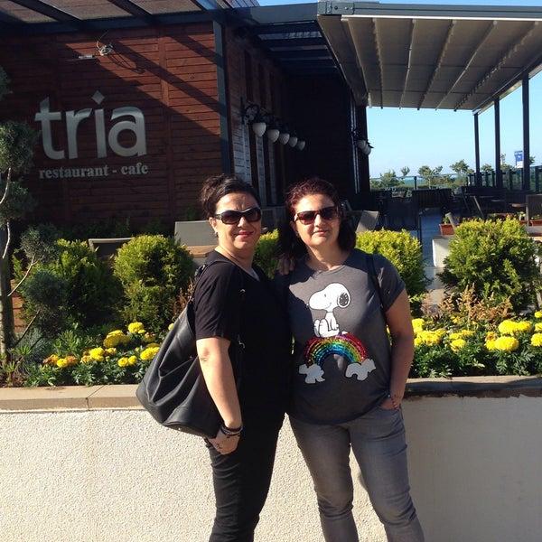 Foto tomada en Tria Restaurant Cafe por Tuba U. el 6/12/2016