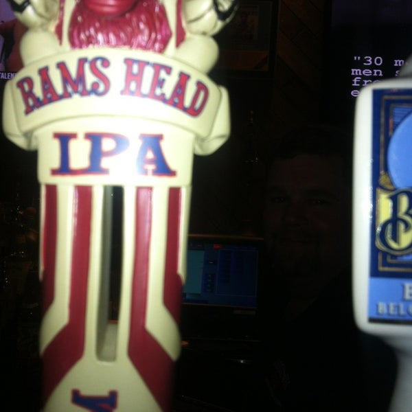 New on tap @Fordham Rams Head IPA