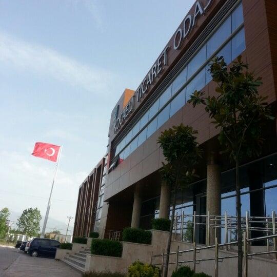 5/23/2013 tarihinde Faruk S.ziyaretçi tarafından Kocaeli Ticaret Odası'de çekilen fotoğraf